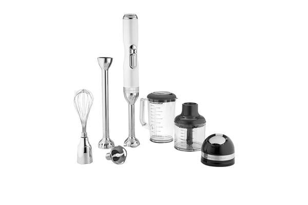KitchenAid Pro Line Hand Blender Frosted Pearl