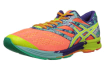 ASICS Women's Gel-Noosa Tri 10 (Flash Coral/Flash Yellow/Ice Blue)