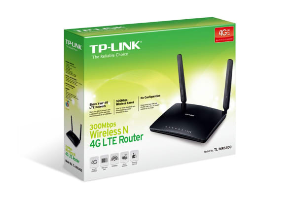 TP-Link 300Mbps Wireless N 4G LTE Router (MR6400)
