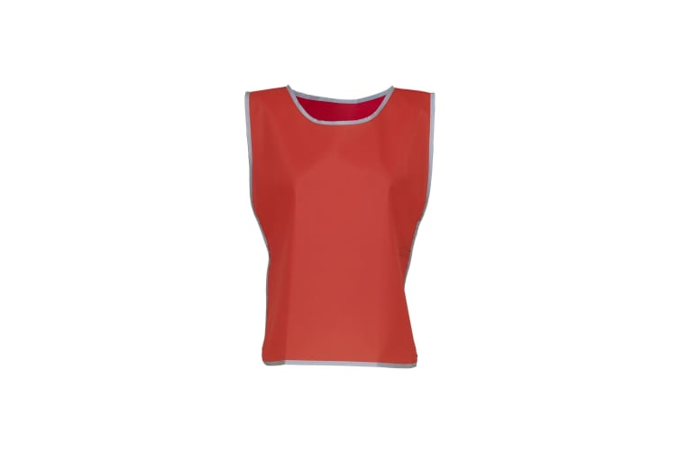 Yoko Hi Vis Reflective Border Tabard (Red) (L/XL)