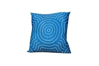 Water Dreaming Aboriginal Design Cushion Cover