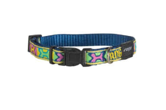 Rogz Fancy Collar PopArt - L