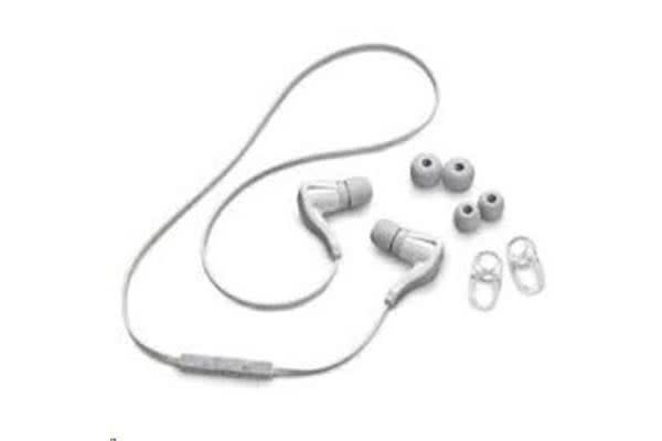 Plantronics 89800-09 BACKBEAT GO 2 WHITE BackBeat Wireless Earbuds With Voice Prompts BackBeat GO
