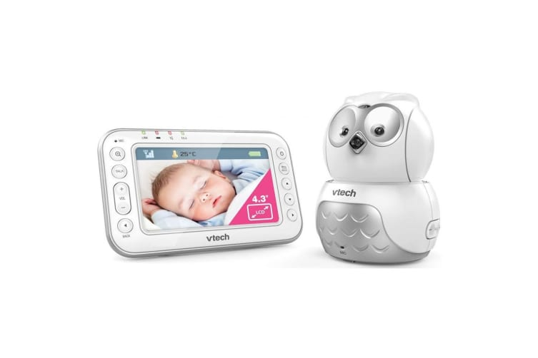 Vtech Pan/Tilt Colour Video/Audio Baby/Infant Owl Safety Digital Monitor BM4000