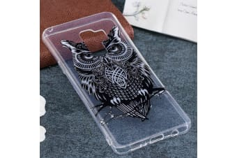 For Samsung Galaxy S9 PLUS Back Case Stylish Owl High-Quality Protective Cover