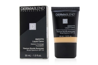 Dermablend Smooth Liquid Camo Foundation SPF 25 (Medium Coverage) - Linen (0C) 30ml