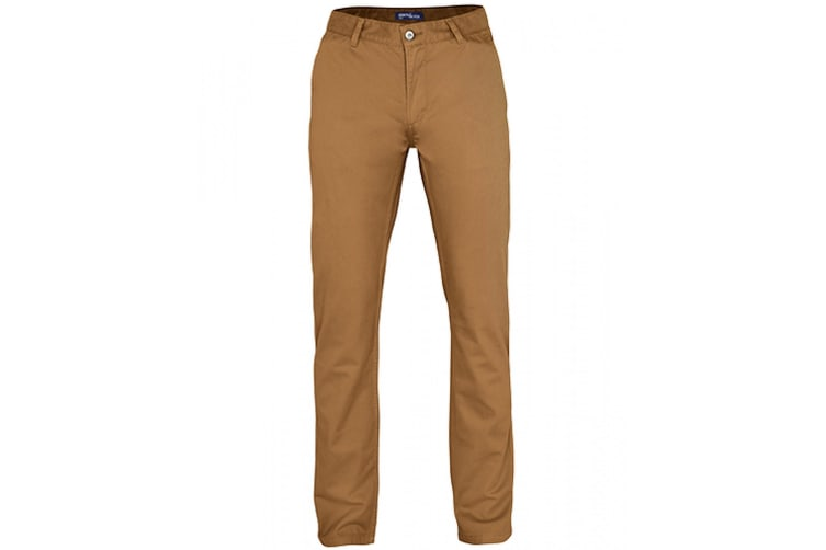Asquith & Fox Mens Classic Casual Chinos/Trousers (Camel) (4XLU)