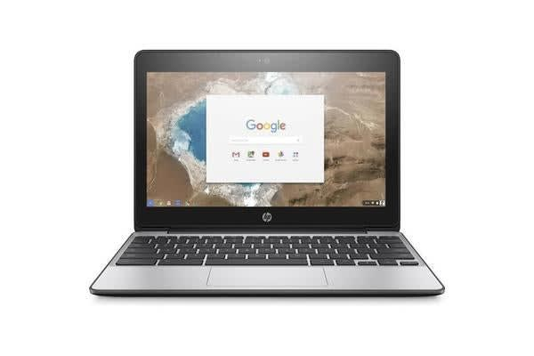 """HP ChromeBook 11 G5 Deluxe Notebook, 11.6"""" Touch Intel Celeron N3060 4GB 32GB SSD"""