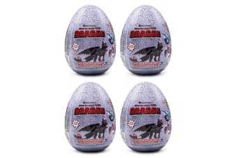 4x 46pc How To Train Your Dragon The Hidden World Egg Jigsaw Puzzle Toy Kids 4y+