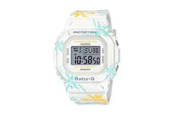 Casio Baby-G Digital Female Watch with Resin Band - Floral (BGD560CF-7D)
