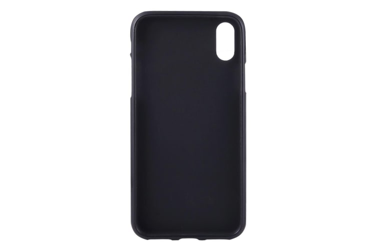 best authentic 583f3 a29f8 For iPhone XS X Case Black Frosted Solid Colour TPU Back Cover Cover