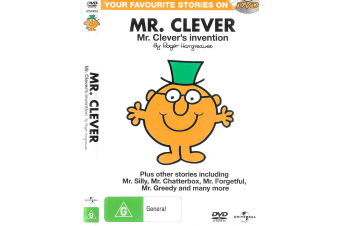Mr. Clever - Cartoons -Animated Region 4 Rare- Aus Stock DVD NEW