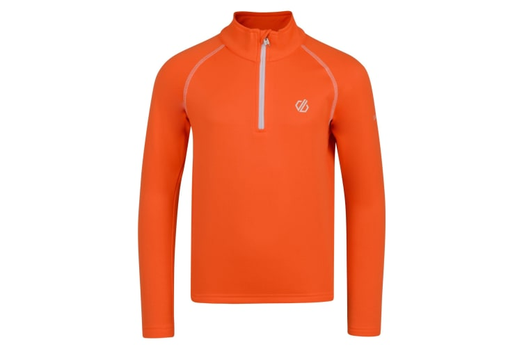 Dare 2B Childrens/Kids Consist Core Stretch Midlayer (Vibrant Orange) (9-10 Years)