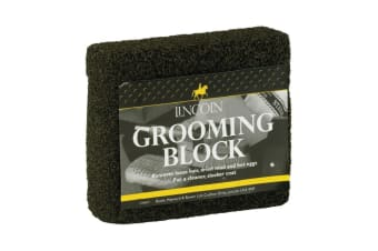 Lincoln Grooming Block (Black) (One Size)