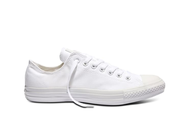 Converse Chuck Taylor All Star Ox Lo (White Mono, US Mens 11.5 US Womens 13.5)