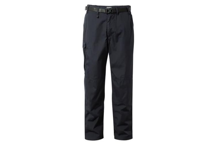 Craghoppers Outdoor Classic Mens Kiwi Stain Resistant Trousers (Dark Navy) (26R)
