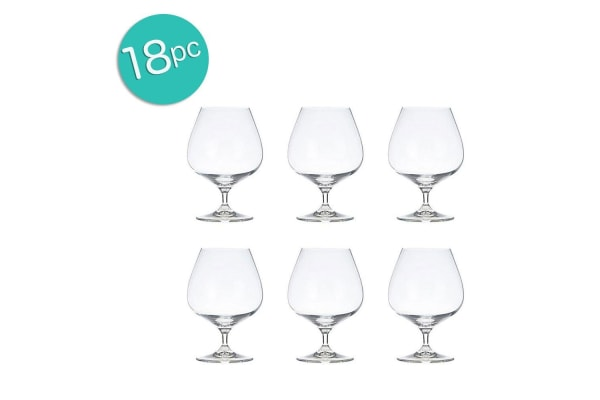 18PC Krosno Vinoteca 550ml Brandy Whiskey Scotch Glass Barware Drink Bar Party