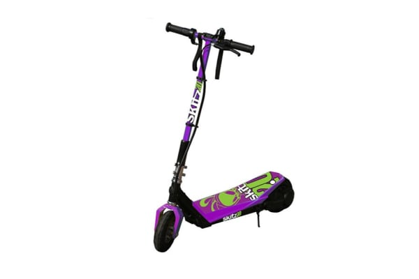 Go Skitz Foldable 2.0 Electric Scooter Purple (GE-AKX200FPUR)