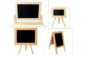 Home Wedding Party Cafe Blackboard Chalkboard Easle Stand Lolly Buffer Display [Design: Tripod 22x26cm]