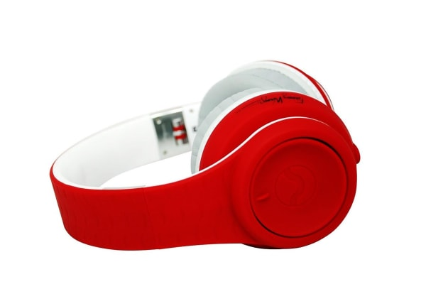 Fanny Wang 2000 Series Over Ear DJ Headphones - Red