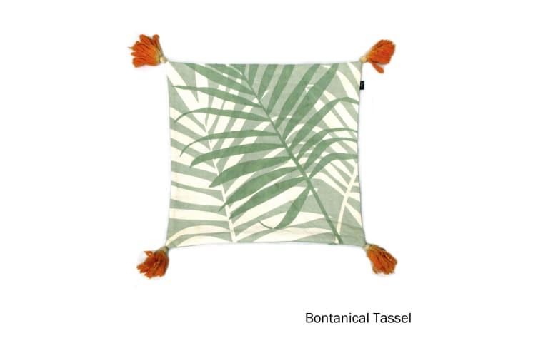 Quality Cushion Cover Bontanical Green by IDC Homewares