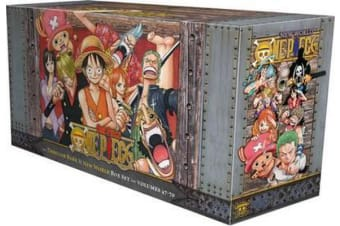 One Piece Box Set 3 - Thriller Bark to New World, Volumes 47-70