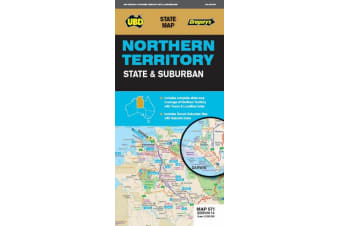 Northern Territory State & Suburban Map 571 14th ed