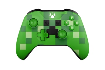 Xbox One Limited Edition Minecraft Creeper Wireless Controller