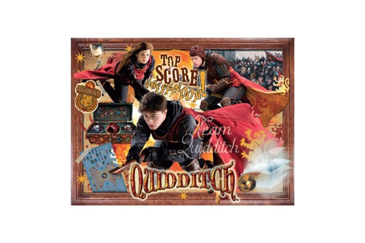 Harry Potter 1000 Piece Quidditch Puzzle