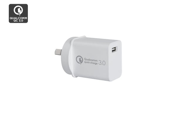 Kogan 18W USB Wall Charger with QC 3.0