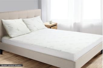 Trafalgar Bamboo Fitted Mattress Protector (Single)