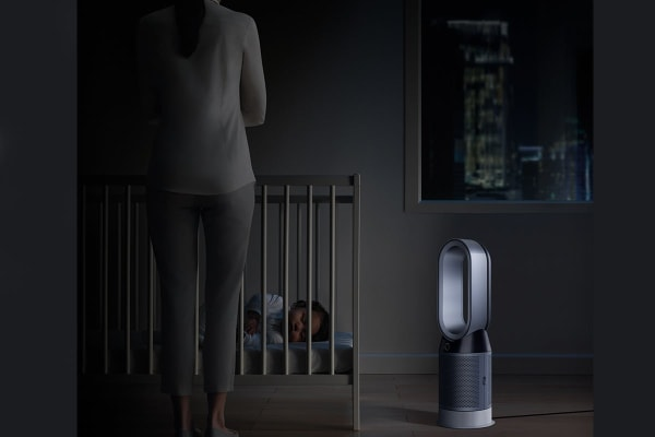 Dyson Pure Hot+Cool Purifying Fan Heater HP04 (White/Silver)