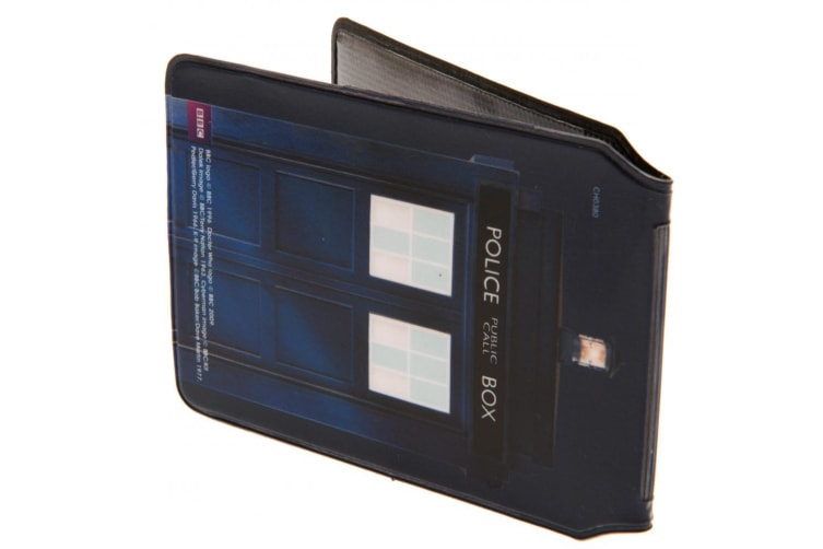 Doctor Who Card Holder (Navy) (One Size)