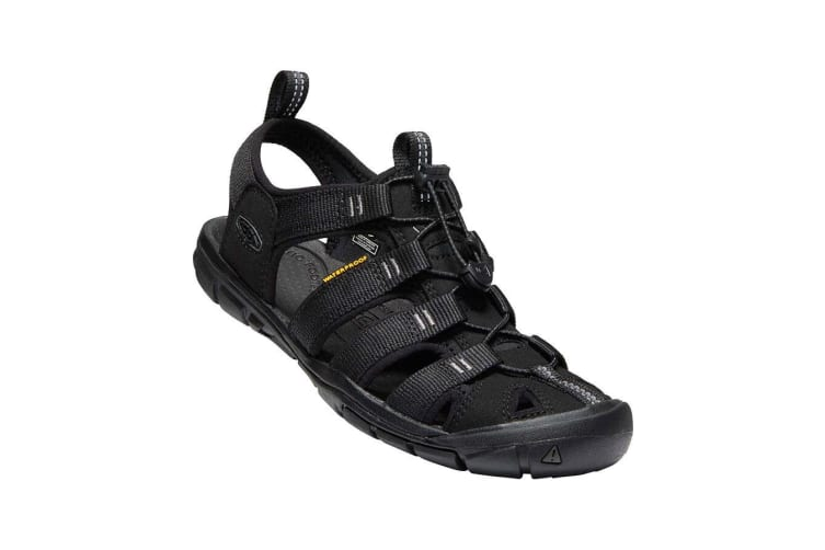 Keen Clearwater CNX Womens Black Black - 11