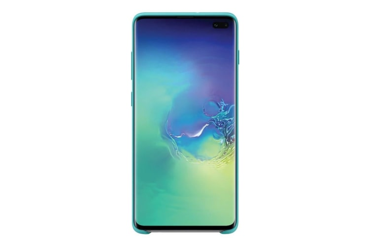 Samsung Galaxy S10+ Plus Silicone Cover - Green