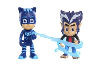 PJ Masks Hero vs Villains - Catboy and Wolfie Howler