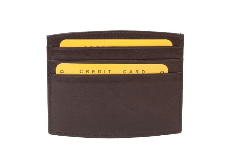 Eastern Counties Leather Ryan Credit Card Holder (Brown) (One size)