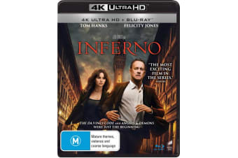 Inferno 4K Ultra HD Blu-ray UHD Region B
