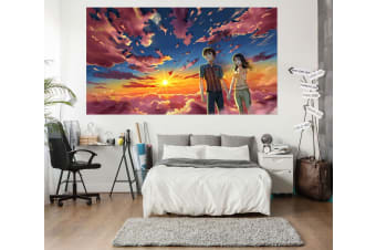 3D Your Name 41 Anime Wall Stickers Self-adhesive Vinyl, 110cm x 110cm(43.3'' x 43.3'') (WxH)
