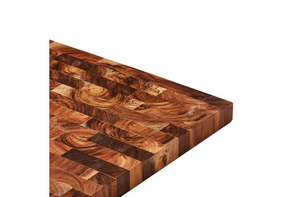 Wolstead Delta Acacia End Grain Cutting Board 42x25x3cm