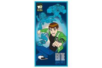 Ben 10 Hero Time Towel (Multicoloured) (One Size)