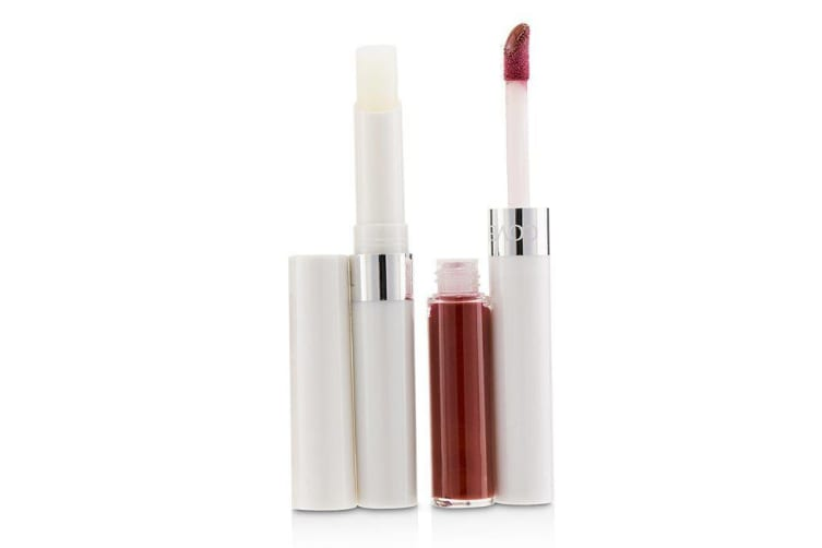 Covergirl Outlast All Day (Moisturizing Topcoat + Colorcoat) - # 840 Signature Scarlet 2pcs