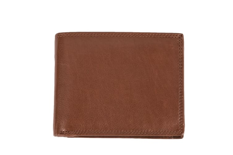 Eastern Counties Leather Sam Trifold Wallet (Cognac) (One size)