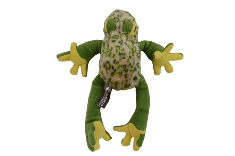 Country Pet Frog Dog Toy (Green) (M)