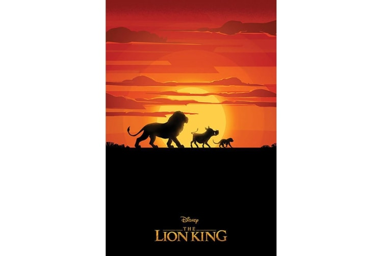 The Lion King Poster (Multicoloured) (61cm x 91.5cm)