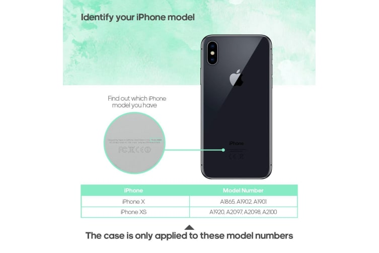 For iPhone XS X Case Strong Armour High-Quality Durable Protective Cover White
