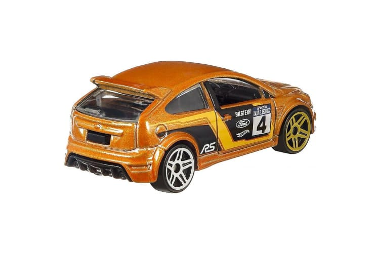 Hot Wheels Backroad Rally '09 Ford Focus RS Diecast Car