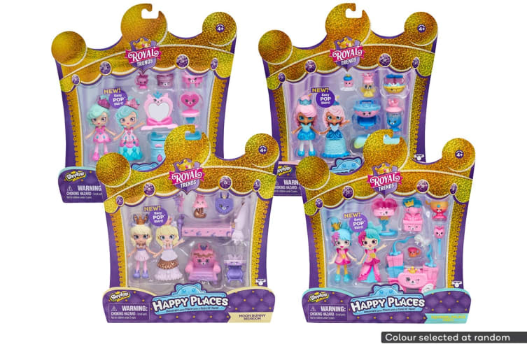 Shopkins Happy Places Royal Trends Playset S7 (Assorted)