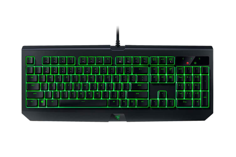 Razer BlackWidow Ultimate Mechanical Gaming Keyboard (Green Switch)