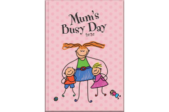 Mum's Busy Day - 2020 Diary Planner A5 Padded Cover by The Gifted Stationery